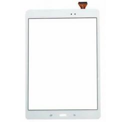 "VITRE TACTILE BLANCHE SAMSUNG Galaxy Tab 9.7"" SM-T550 SM-T555"