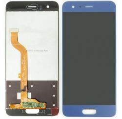 ENSEMBLE ECRAN LCD + VITRE TACTILE HUAWEI Honor 9 - Bleu