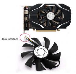 VENTILATEUR CARTE VIDEO MSI GeForce GTX 1060 6G OC - 12V 0.5A - HA9015H12F-Z