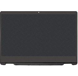 ENSEMBLE VITRE TACTILE + ECRAN LCD + CADRE HP Pavilion X360 14-DH, 14M-DH - 1920x1080