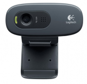 WEBCAM Logitech 3 Mpx, 1280 x 720 HD, USB 2.0 - 960-001063