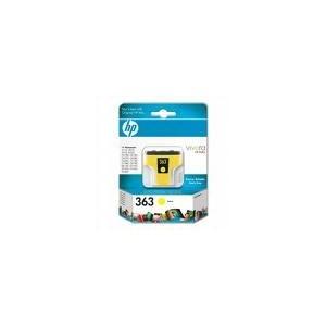 CARTOUCHE HP JAUNE PHOTOSMART 8250 - 4ML - No363