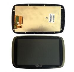 ENSEMBLE NEUF VITRE TACTILE + ECRAN LCD + CADRE TOMTOM GO 600 Version LTR606SL01-001