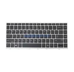 CLAVIER HP ProBook 640 G4 - L09547-051 Cadre Silver
