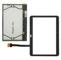 ECRAN LCD + VITRE TACTILE NOIRE SAMSUNG SM-T530