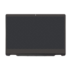 ENSEMBLE VITRE TACTILE + ECRAN LCD + CADRE HP Pavilion X360 14-DH, 14M-DH - 1366x768