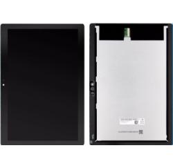 ENSEMBLE ECRAN LCD + VITRE TACTILE NOIRE LENOVO TB-X605F