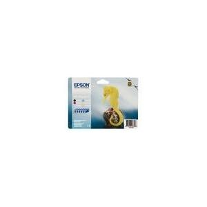 PACK CARTOUCHES EPSON NOIR-CYAN-MAGENTA-JAUNE-CYAN CLAIR-MAGENTA CLAIR - R200/300/RX500/600