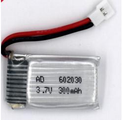 BATTERIE 3.7V 20C 300mAh pour DRONE - AD 602030