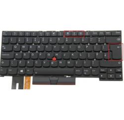 CLAVIER QWERTY UK RETROECLAIRE Lenovo ThinkPad T14s Gen 1