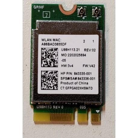 Carte wifi HP 240 G5 245 255 14-am 15-ay 15-ba 17-x1 a5-aY 857334-855