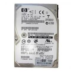 DISQUE DUR HDD HP 146GB 15K 6G SAS SFF - EH0146FARWD 518216-002 - Gar 1 an