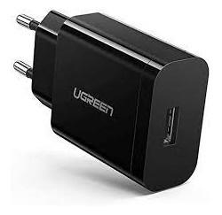 CHARGEUR USB 3.0 18W - Noir - Gar 1 an