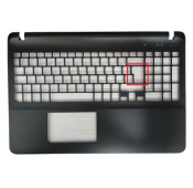 COQUE SUPERIEURE NOIRE SONY vaio SVF152, SVF15, FIT15, SVF153, SVF1541 - Gar 6 mois