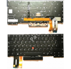 CLAVIER AZERTY BELGE RETROECLAIRE Lenovo ThinkPad T14s Gen 1 - Gar 6 mois