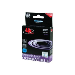 CARTOUCHE BROTHER CYAN COMPATIBLE LC1000C/LC970C