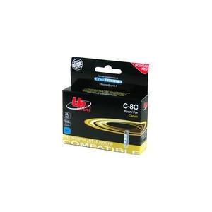 CARTOUCHE CANON CYAN compatible CLI-8C - avec puce - 14ml