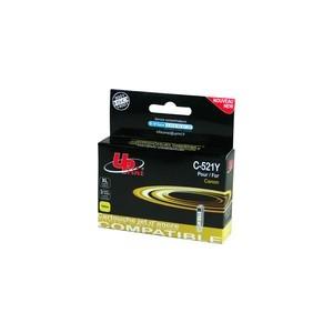CARTOUCHE CANON Jaune Pixma Compatible CLI-521Y - 10.5ML - avec puce