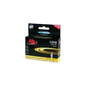 CARTOUCHE CANON NOIRE Pixma Compatible CLI-521BK - 10.5ML - avec puce