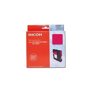 CARTOUCHE RICOH GEL D'ENCRE MAGENTA AFICIO GX5050N - GC-21MH