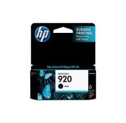 CARTOUCHE HP NOIRE OFFICEJET 6000/6500/7000 - N°920 - 420 pages - CD971A