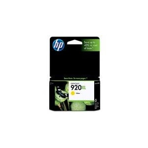 CARTOUCHE HP JAUNE OFFICEJET 6000/6500/7000 - N°920XL - 700 pages - CD974A