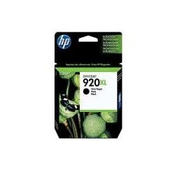 CARTOUCHE HP NOIRE OFFICEJET 6000/6500/7000 - N°920XL - 1200 pages - CD975A