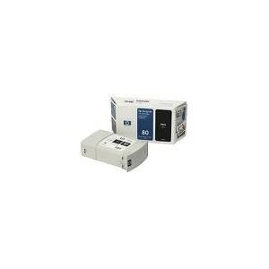 CARTOUCHE HP NOIRE DesignJet 1050C/1055CM - No80 - 350ML