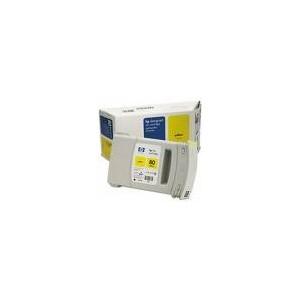 CARTOUCHE HP JAUNE DesignJet 1050C/1055CM - N°80 - 175ML - C4873