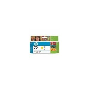 CARTOUCHE HP JAUNE DESIGNJET T1100 - N72 - 130ML
