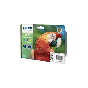 CARTOUCHE EPSON COULEUR STYLUS PHOTO 790 - DOUBLE PACK