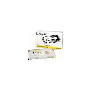 TONER LEXMARK JAUNE C510 - 20K0502