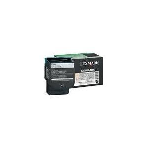 TONER LEXMARK NOIR C540/C543/C544/X543/X544 - 2500 pages - C540H1KG