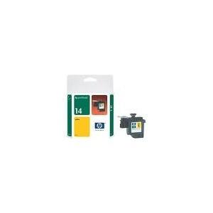 TETE D'IMPRESSION HP JAUNE COLOR INKJET PRINTER CP1160/OFFICEJET D series - No14