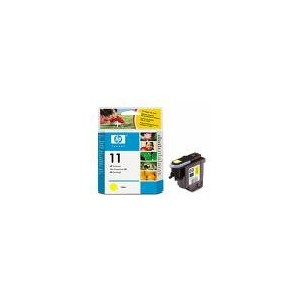 TETE D'IMPRESSION HP JAUNE BUSINESS INKJET2200SERIES/2600 - DESIGN JET SERIES500/800 - No11