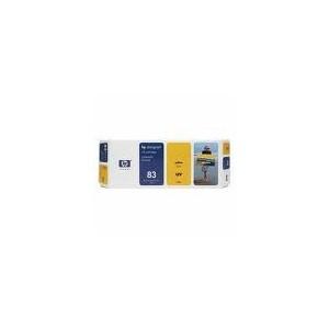 CARTOUCHE HP UV JAUNE DesignJet 5000 - No83