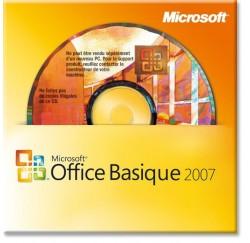 MS Office basique 2007 OEM