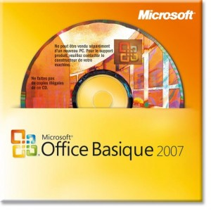 MS Office basique 2007 OEM