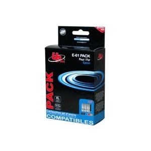 PACK CARTOUCHES EPSON 2 cartouches Noires et 1 cartouche CYAN/MAG/JAUNE -D88/DX3850/4850