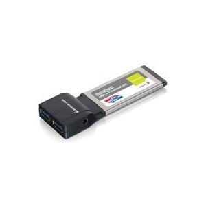 EXPRESSCARD IOGEAR USB 3.0 SuperSpeed - 2 ports USB3.0 - GEU302
