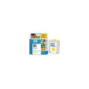 CARTOUCHE HP JAUNE DESIGNJET 500/800 - No82