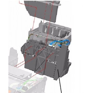 INK SUPPLY STATION HP DESIGNJET 500 500PS 800 800 PS - C7769-60373 - C7769-60148