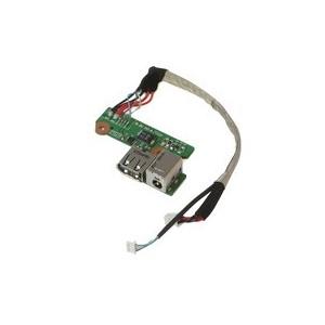 CARTE FILLE DC JACK + USB HP Pavilion DV6500 DV6570 DV6600 DV6646 - 449454-001