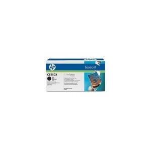 TONER HP NOIR CLJ CM3530, CP3525 series - CE250X - 10500 pages