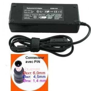 ALIMENTATION SECTEUR Pour SONY PCG, VGN series - 19V - 4.74A - 90W - TL122409