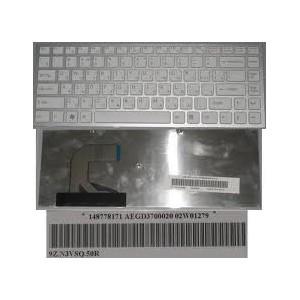 CLAVIER AZERTY SONY VPC-Y series - Blanc - 02004017 - 9J.N0U82.M0F - 1487905731
