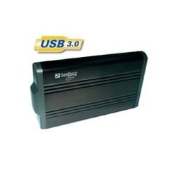 """BOITIER EXTERNE USB 3.0 pour disque dur 3.5"""" - SANDBERG - Gar 5 ans"""