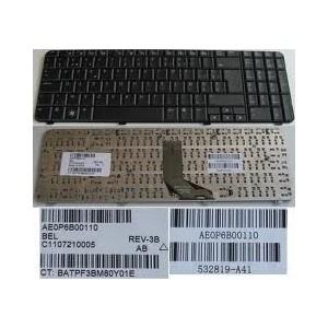 CLAVIER AZERTY HP PRESARIO CQ61 G61 - 539618-051 - 9J.N0Y82.60F - Noir