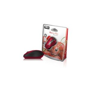 Souris Wireless Mouse Cherry Rouge