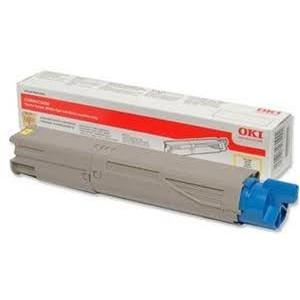 TONER OKI YELLOW C3300, C3400, C3600, C3450 - Grde Capacite - 2500 pages - 43459329